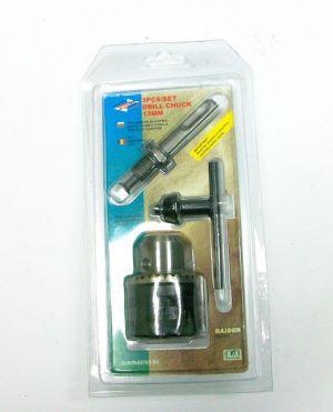 Патрон за борм. с ключ + адаптер SDS-PLUS 13мм