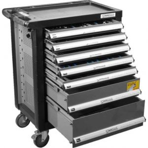 Количка за инструменти 7 чекмеджета 138 части StahlMayer