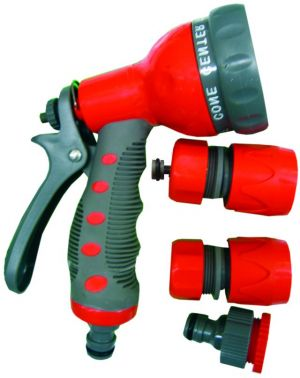 Пистолет за пръскане 7 функции с накрайници к-т Top Garden