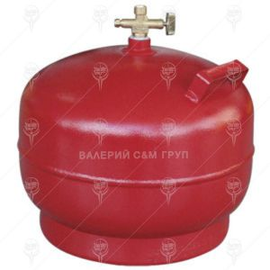 Туристическа бутилка за втечнен газ 7.2л