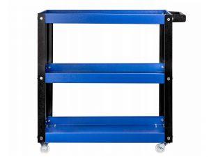 Количка за инструменти с 3 рафта червено/ синьо