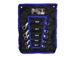 Ключове С- образни 10-19мм к-т 5бр