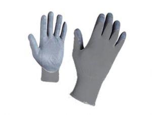 Ръкавици, сиво трико/ сив нитрил TS
