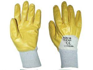 Ръкавици латекс жълти TS