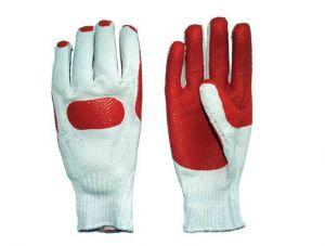 Ръкавици, памучни с гумена длан TS