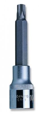 Вложка с накрайник торкс  дълга 1/2'' Т20 - T70 Cr-V