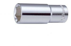 Вложка за гедоре 6-стенна удължена 1/2'' Dura Chr-V Hans Tools
