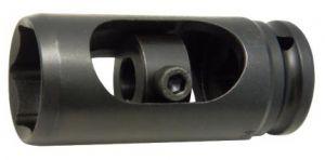 Вложка за дюзи прорязана 1/2''х28мм 6-стен L-78мм Dura Chr-Мо Hans Tools