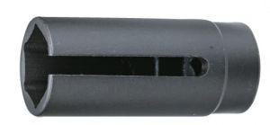 Вложка прорязана 1/2''х29мм (За вакуум сензори) 6-стен L-90мм Dura Chr-Мо Hans Tools