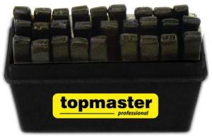 Букви хром 1.5mm-12.5mm к-т 27бр TMP