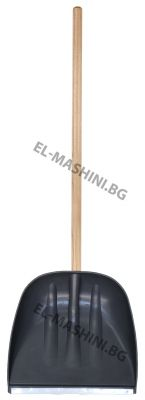 Лопата за сняг с метална лайсна 40см