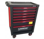Количка за инструменти 236 части 7 чекмеджета червена StahlMayer