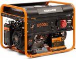 Генератор бензинов с електронен старт 6.5kW GDA7500E DAEWOO