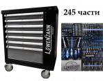 Количка за инструменти 7 чекмеджета пълни LoweNzahn