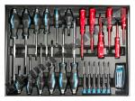 Количка с инструменти 7 чекмеджета 156 части