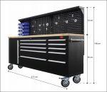 Шкаф количка за инструменти RockForce