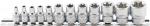 Вложки Е-Torx комплект 12бр. 1/4'' & 3/8'' BGS