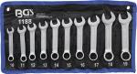 Ключове звездогаечни къси 10-19мм к-т 10бр в калъф BGS