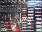 Количка с инструменти 260ч 7 оборудвани чекмеджета метален капак EVERFORCE