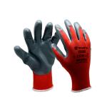 Монтажни ръкавици RED NITRIL WÜRTH