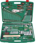 Гедоре 1/4''-1/2'' к-т 158ч с клещи, отвертки и ключове Dura Chr-V Hans Tools