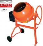 Бетонобъркачка 125л 700W Altrad Limex