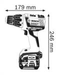 Акумулаторен бързозаряден винтоверт GSR 14.4 V-EC, 2 x 4.0 Аh BOSCH